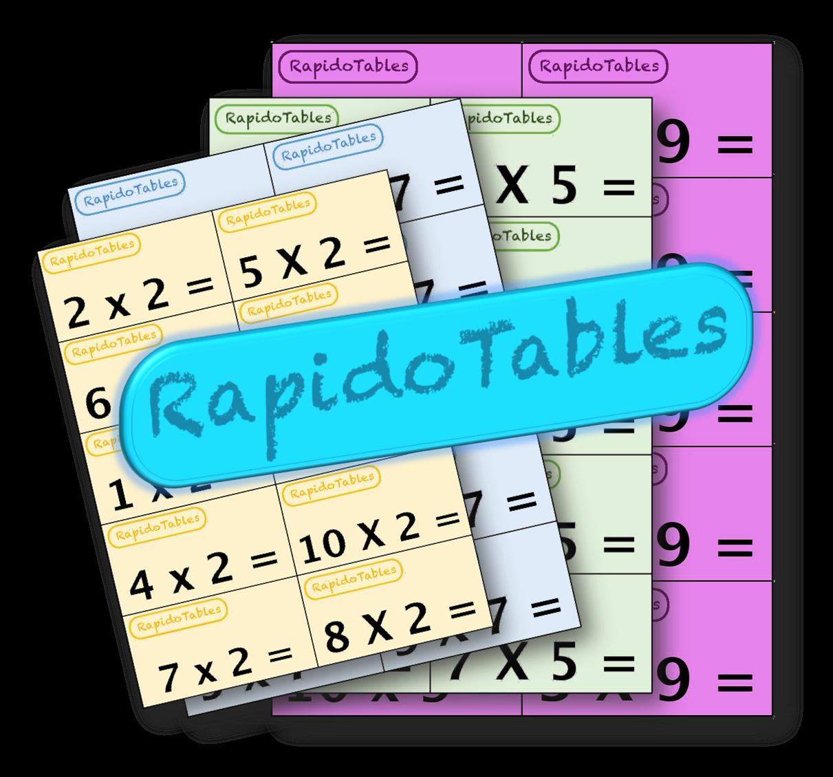 Rapidotables jeu sur les tables de multiplication l - Jeu des tables de multiplication ...